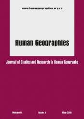 Coperta B5 Human Geographie 9.1 mai 2015