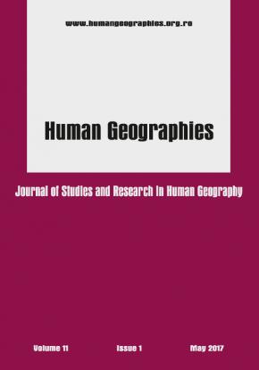 Coperta B5 Human Geographie 11 may 2017