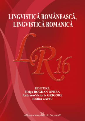 Copertă site Lingivistică românească