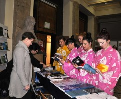 Ceremonie japoneză la Facultatea de Drept