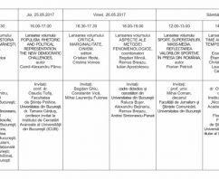 Caravana EUB – Calendar Lansări BOOKFEST Bucureşti 2017