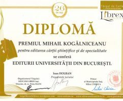 Noi premii pentru Editura Universităţii din Bucureşti