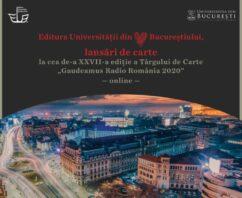 Editura Universității din București – Calendar evenimente (online) Gaudeamus 2020