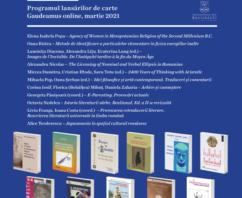 Programul lansărilor de carte Gaudeamus online, martie 2021