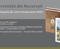 Secțiunea Ficțiune a Târgului Gaudeamus online– lansări EUB