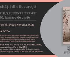Cartea scrisă de/pentru femei – lansare EUB, în cadrul Gaudeamus online